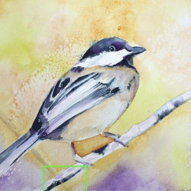 """Chickadee"" Copyright 2018 Kate Zamarchi. All rights reserved."