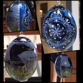 Loon Egg Ornament