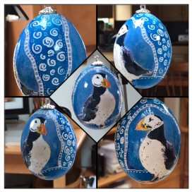 Puffin Egg Ornament