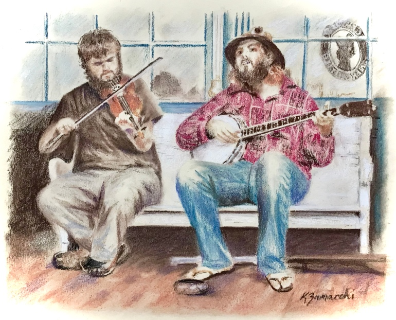 Pickwick Buskers